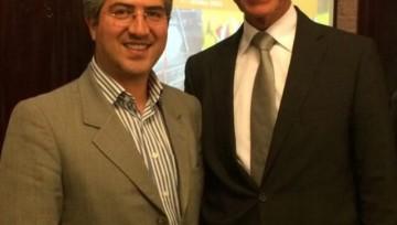 Vertegenwoordiger van ons kantoor maakt kennis met de handelsmissie naar Iran én met Henk Kamp, minister van Economische Zaken